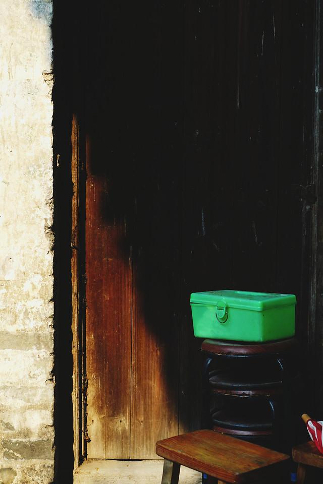 no-person-window-green-street-dark picture material