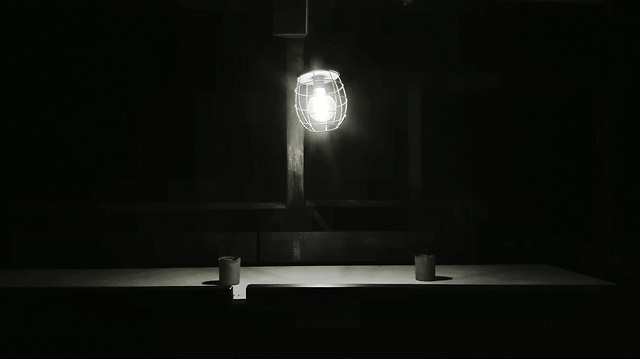 light-spotlight-lamp-room-inside picture material