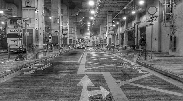 street-monochrome-transportation-system-track-black-white picture material