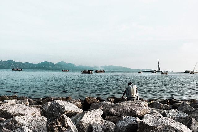 water-sea-seashore-ocean-travel picture material