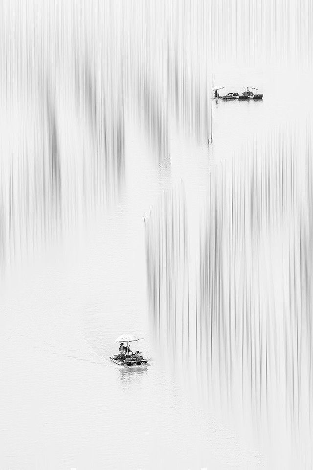 water-black-white-no-person-winter-reflection 图片素材