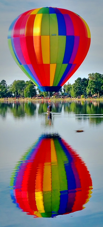 motley-rainbow-no-person-balloon-floating picture material