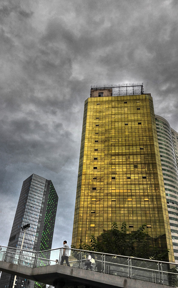 architecture-city-skyscraper-building-downtown picture material