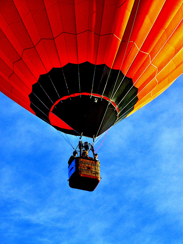 balloon-hot-air-balloon-hot-air-ballooning-no-person-sky picture material