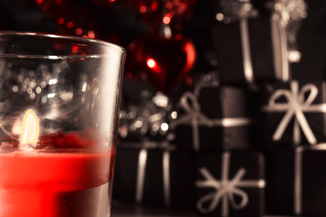 christmas-no-person-drink-candle-celebration 图片素材