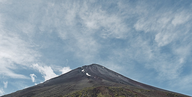 sky-mountain-volcano-hill-landscape picture material