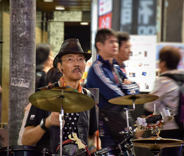 music-people-group-street-city picture material