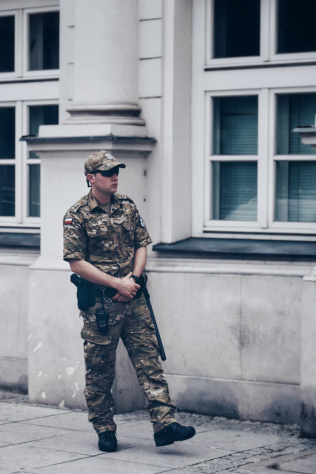 police-soldier-people-military-uniform picture material
