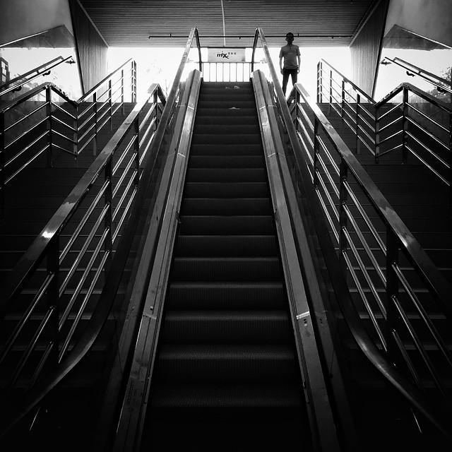 step-light-black-monochrome-no-person picture material
