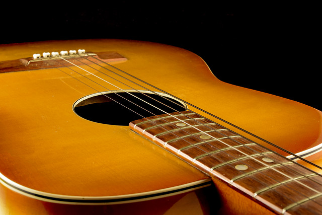 guitar-bowed-stringed-instrument-acoustic-instrument-sound picture material