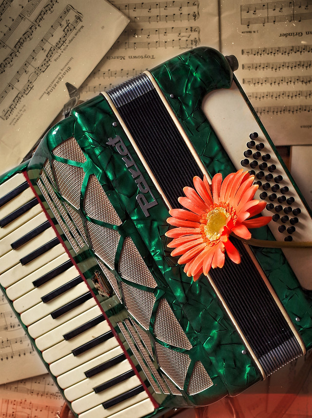 piano-music-instrument-no-person-sound picture material