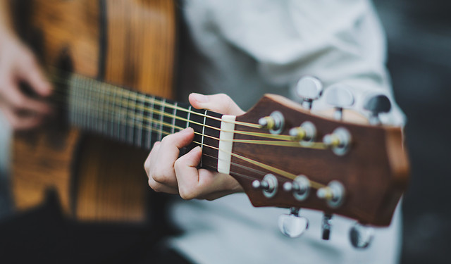 guitar-music-instrument-bowed-stringed-instrument-sound picture material