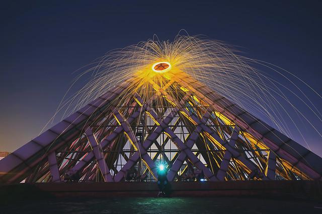 bridge-light-festival-city-landmark picture material