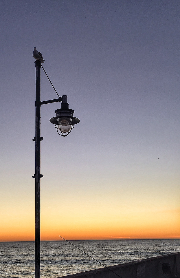 no-person-sky-sunset-light-lamp 图片素材