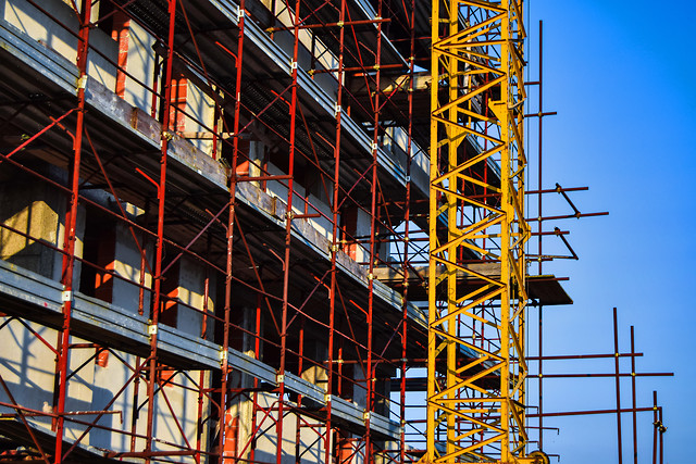 expression-scaffolding-steel-industry-construction picture material