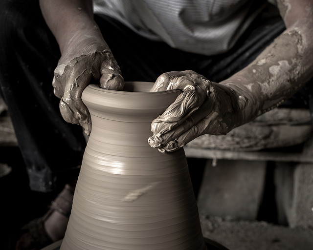 pottery-skill-artisan-clay-arts-crafts picture material