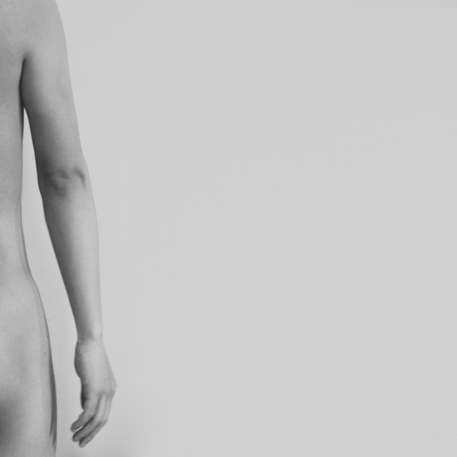 nude-girl-monochrome-model-woman picture material