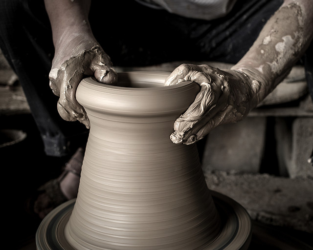 pottery-people-art-skill-artisan picture material