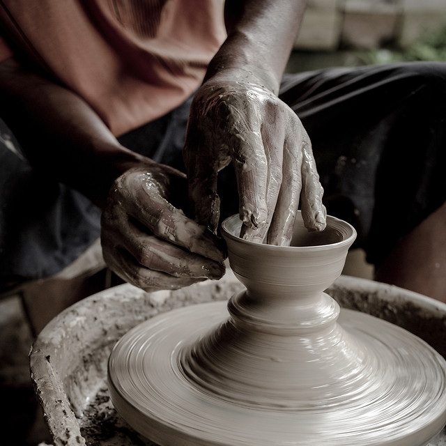 pottery-artisan-food-clay-people picture material
