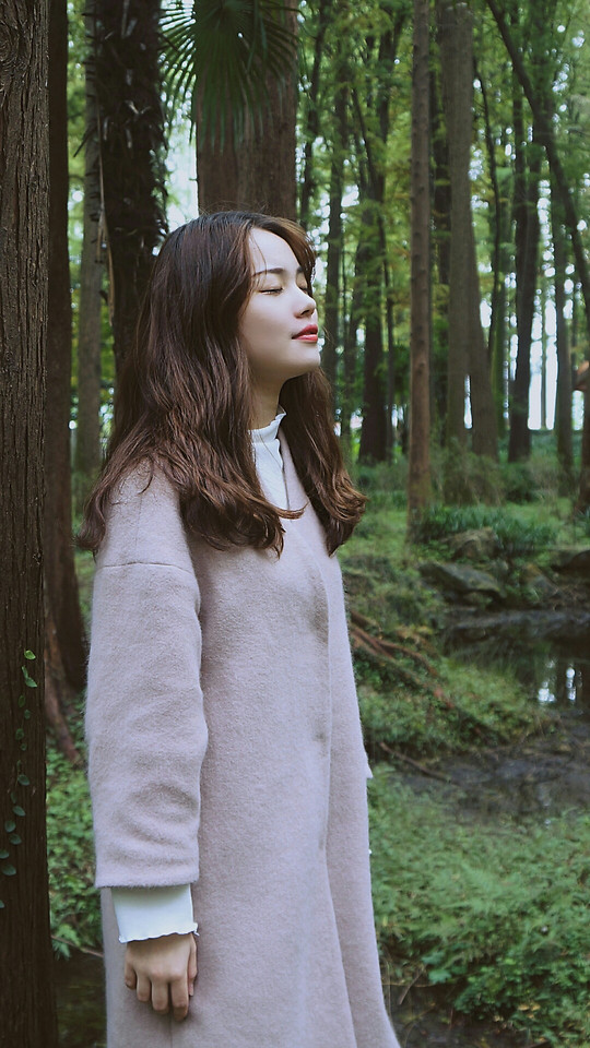 nature-wood-woman-park-girl 图片素材