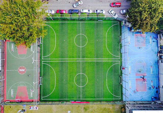 green-sport-venue-structure-recycling-desktop picture material