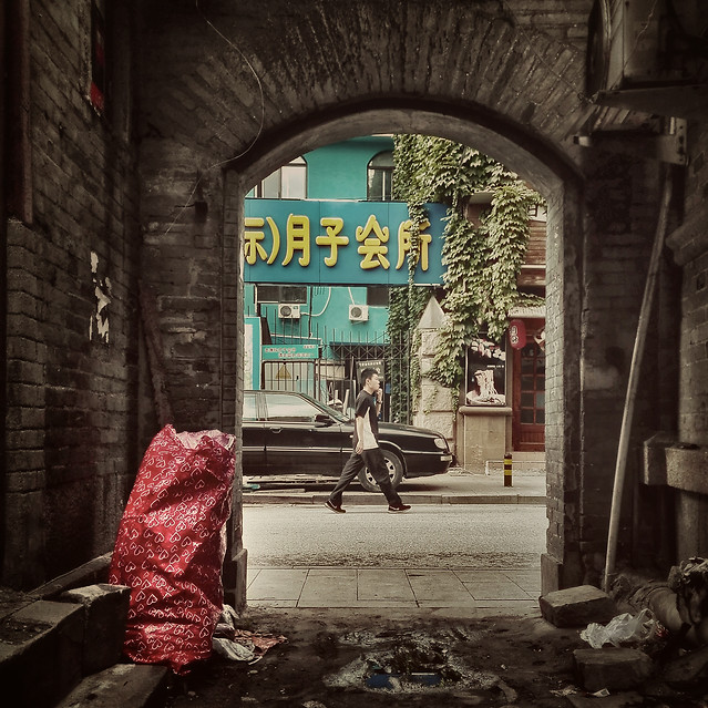street-people-city-alley-graffiti picture material
