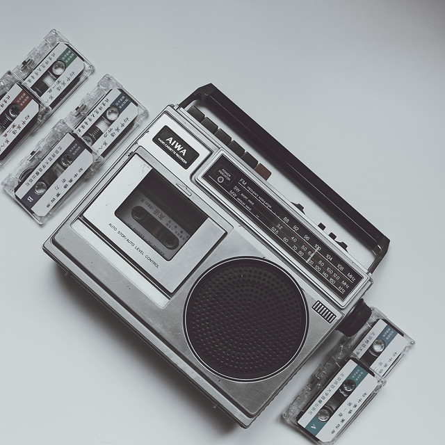 stereo-cassette-sound-audio-electronics picture material