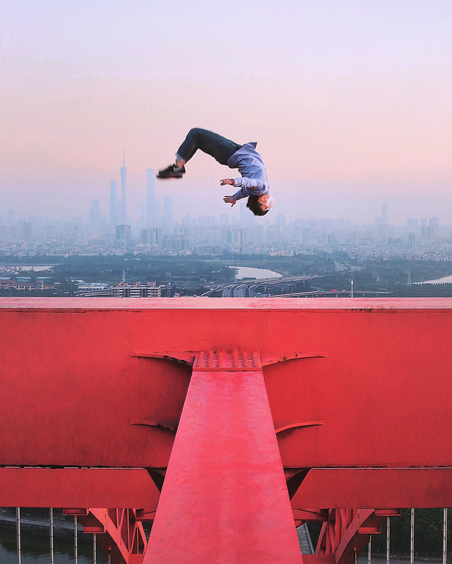 air-skateboard-balance-red-recreation picture material