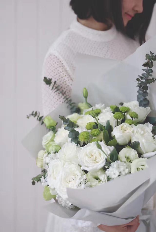 wedding-bouquet-bride-flower-flower-bouquet picture material