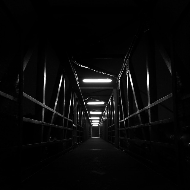 dark-subway-system-light-tunnel-monochrome picture material