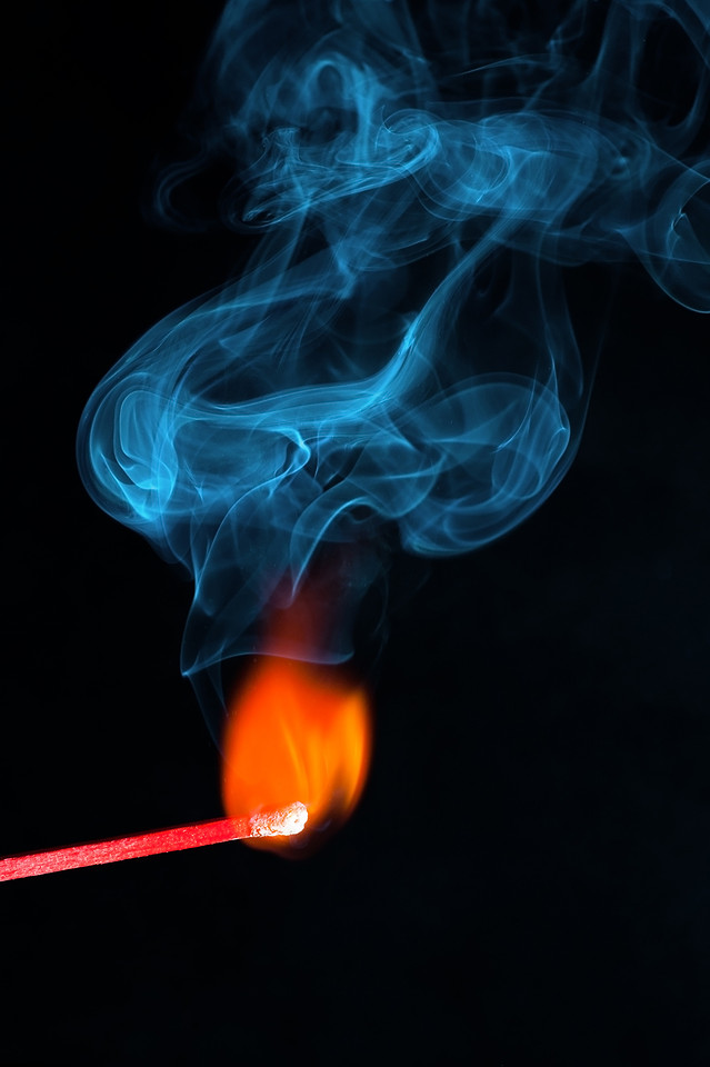 flame-smoke-burnt-burn-wave picture material
