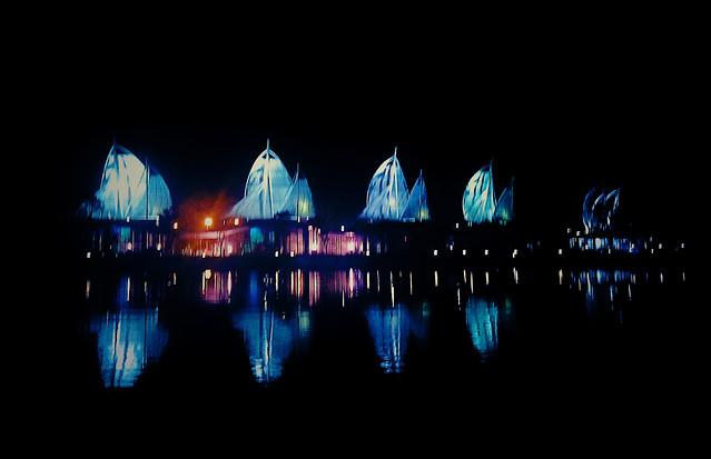 reflection-dark-no-person-evening-illuminated picture material