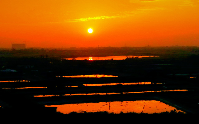 sunset-dawn-evening-dusk-water 图片素材