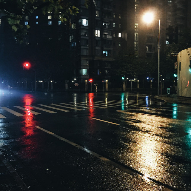 street-road-light-city-blur picture material