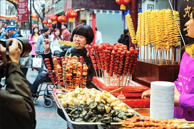 market-shopping-people-stock-sell 图片素材