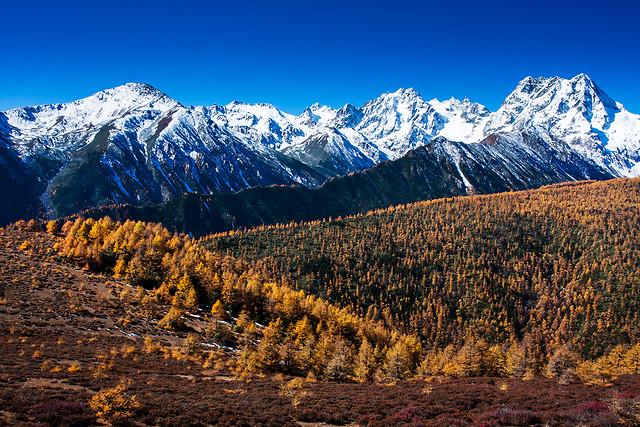 snow-mountain-landscape-no-person-scenic picture material