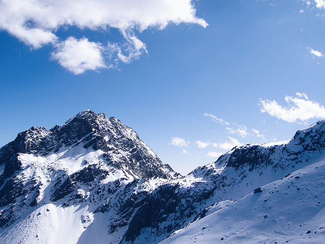 snow-winter-no-person-mountain-sky 图片素材