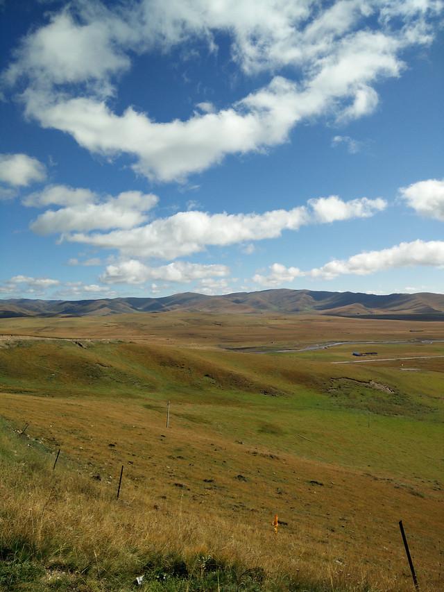 landscape-no-person-grassland-sky-highland picture material