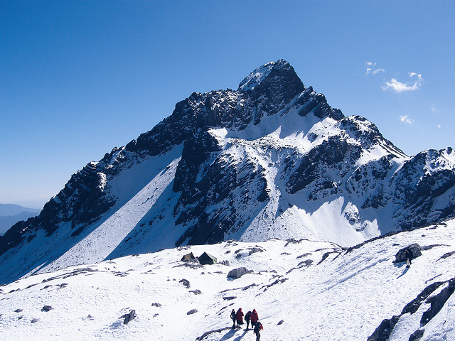 snow-mountain-winter-cold-ice 图片素材