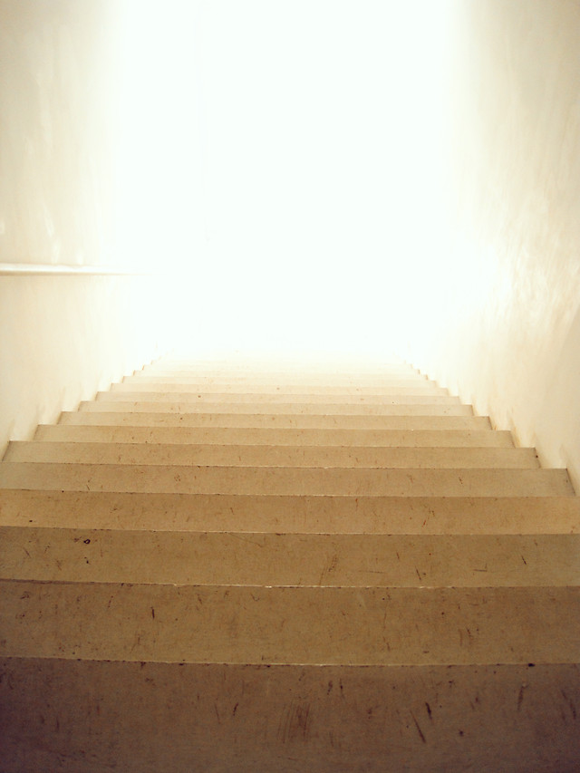step-no-person-light-architecture-wall picture material