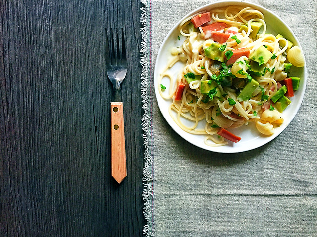 food-dish-cuisine-spaghetti-vegetable 图片素材