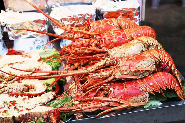 seafood-fish-lobster-crab-food 图片素材
