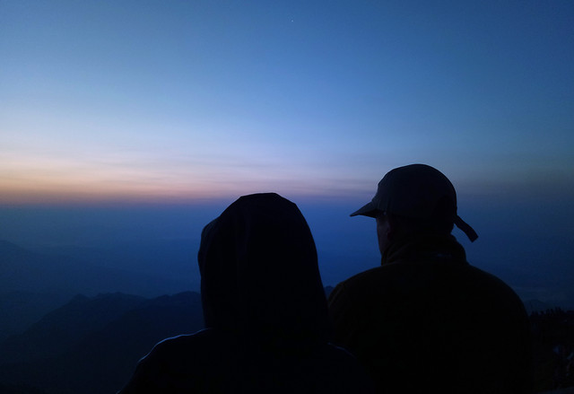 sunset-sky-landscape-water-backlit picture material
