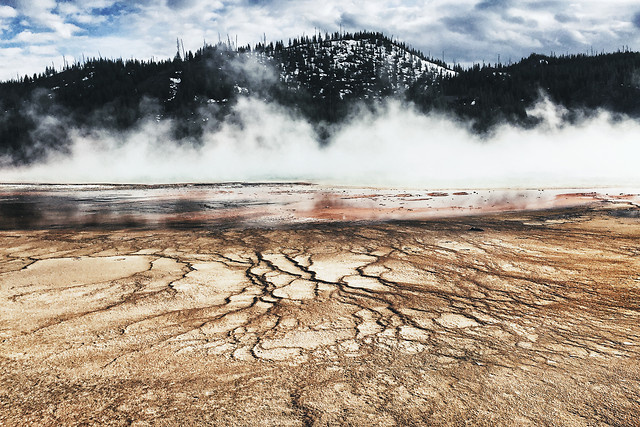 steam-no-person-geyser-volcano-geothermal picture material