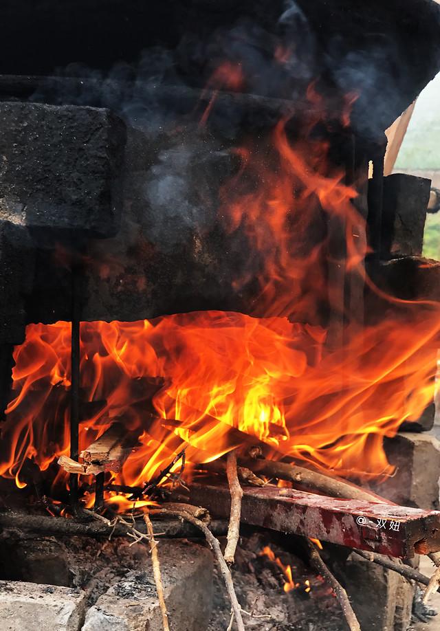 flame-bonfire-campfire-fireplace-heat 图片素材