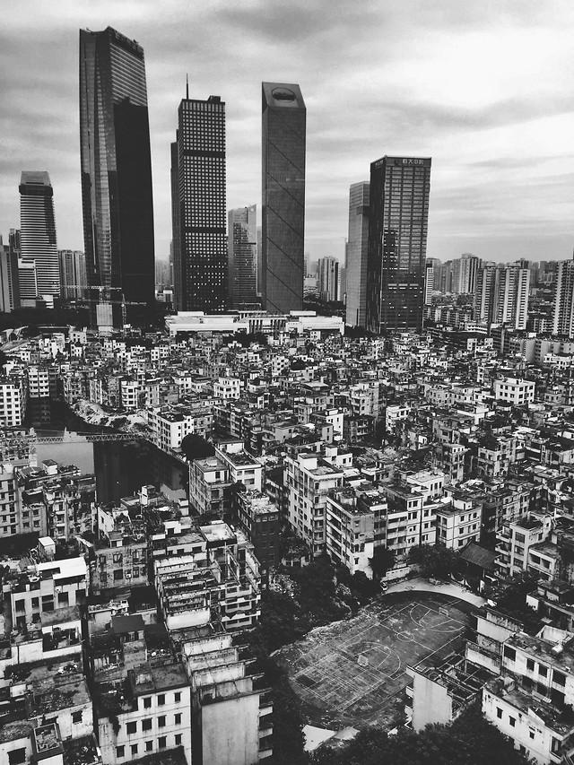 skyscraper-city-skyline-metropolitan-area-architecture 图片素材