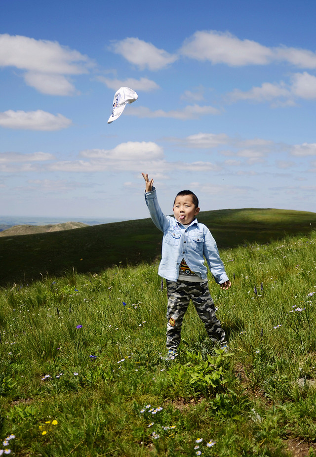 outdoors-sky-blue-grassland-leisure picture material