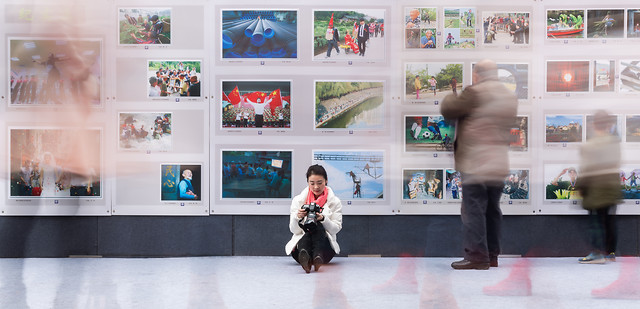 exhibition-room-business-people-museum picture material