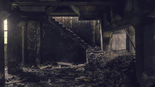 darkness-no-person-abandoned-mine-waste picture material