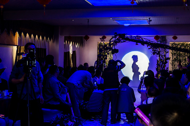 crowd-entertainment-stage-light-event picture material
